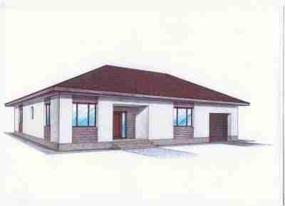 Проект «Иж-479″Общая площадь: 166,94 м2Отапливаемая